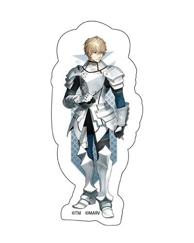 """Trading Acrylic Magnet A """"Fate/EXTELLA LINK (Gawain)"""" by Y Line"""