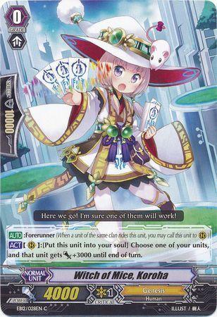 EB12/028EN (C) Witch of Mice, Koroha