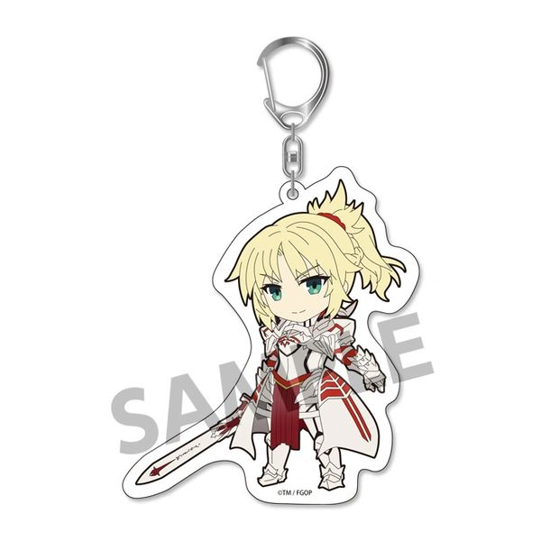 """Pikuriru! Trading Acrylic Key Holder Vol.3 """"Fate/Grand Order (Mordred)"""" by Hobby Stock"""