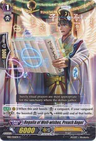 EB12/026EN (C) Regalia of Well-wishes, Preach Angel