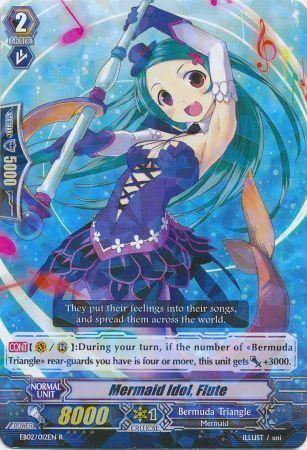 EB02/012EN (R) Mermaid Idol, Flute