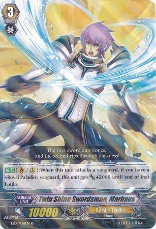 EB03/016EN (R) Twin Shine Swordsman, Marhaus