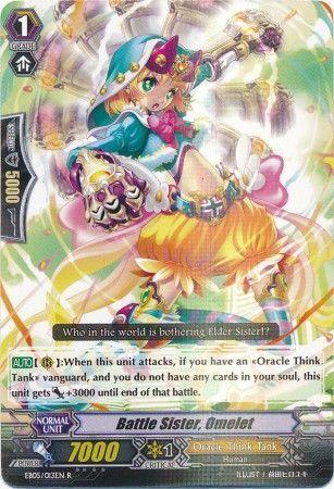 EB05/013EN (R) Battle Sister, Omelet