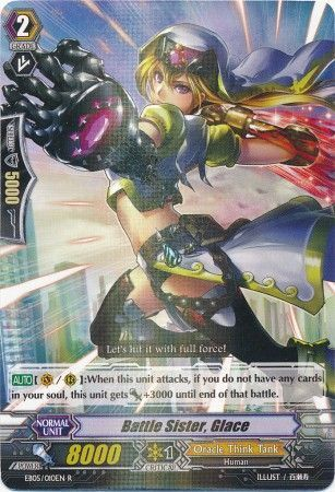 EB05/010EN (R) Battle Sister, Glace