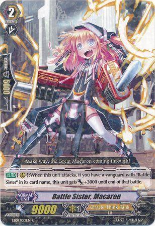EB07/012EN (R) Battle Sister, Macaron