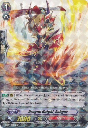 EB09/013EN (R) Dragon Knight, Ashgar