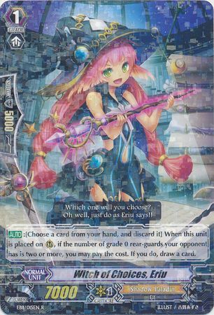 EB11/015EN (R) Witch of Choices, Eriu