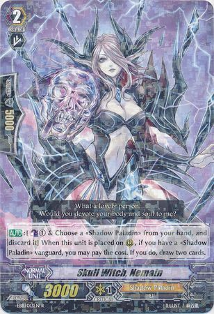 EB11/013EN (R) Skull Witch, Nemain