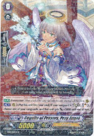 EB12/016EN (R) Regalia of Prayers, Pray Angel