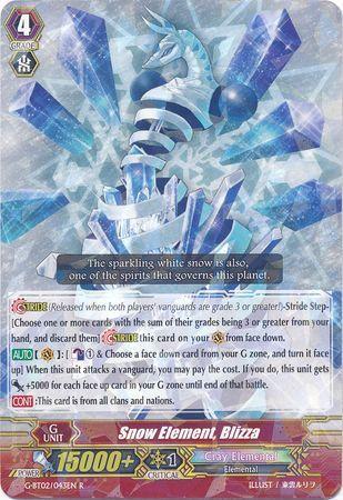 G-BT02/043EN (R) Snow Element, Blizza