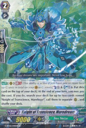 G-BT02/040EN (R) Knight of Transience, Maredream