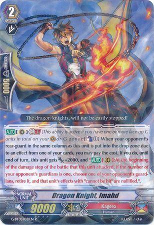 G-BT03/031EN (R) Dragon Knight, Imahd