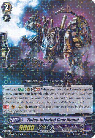 G-BT05/042EN (R) Twice-talented Gear Hound