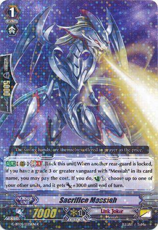G-BT05/035EN (R) Sacrifice Messiah