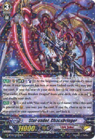 G-BT05/033EN (R) Star-vader, Chaosbringer
