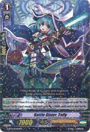 G-BT05/026EN (R) Battle Sister, Taffy