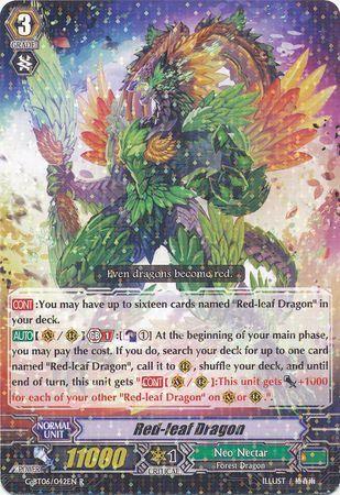G-BT06/042EN (R) Red-leaf Dragon