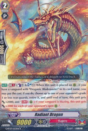 G-BT07/033EN (R) Radiant Dragon