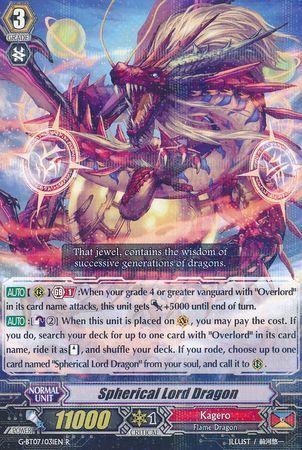 G-BT07/031EN (R) Spherical Lord Dragon