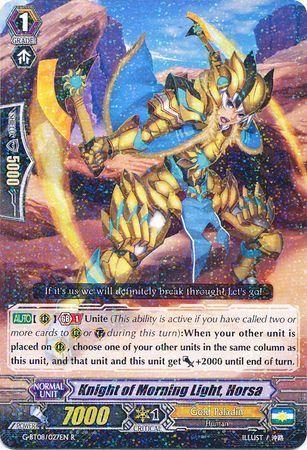 G-BT08/027EN (R) Knight of Morning Light, Horsa