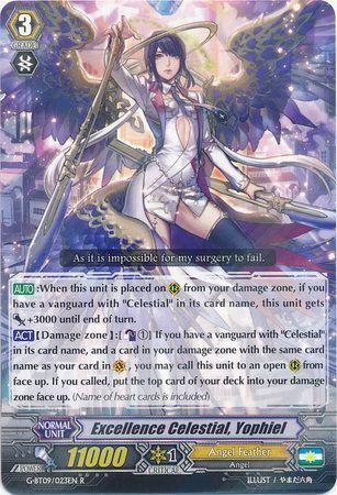G-BT09/023EN (R) Excellence Celestial, Yophiel