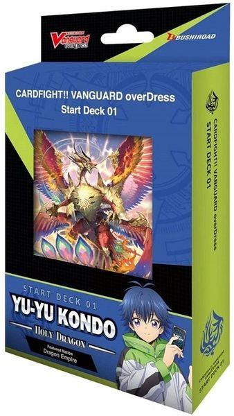 "Cardfight!! Vanguard overDress Start Deck 01 ""Yu-Yu Kondo -Holy Dragon-"" by Bushiroad"
