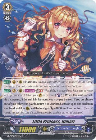 G-CB01/025EN (C) Little Princess, Himari