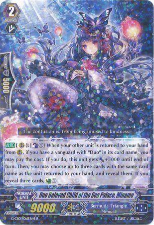 G-CB01/016EN-B (R) Duo Beloved Child of the Sea Palace, Minamo
