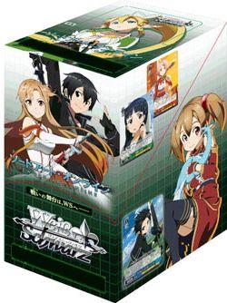 """Weiss Schwarz Japanese Booster Box """"Sword Art Online"""" by Bushiroad"""