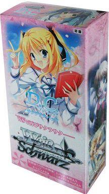 "Weiss Schwarz Japanese EX Booster Box ""D.C (Sakura Saku)"""