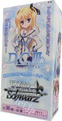 "Weiss Schwarz Japanese EX Booster Box ""D.CⅢ"""