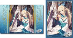 "Sleeve & Rubber Mat Set ""Shining Resonance (Kirika)"" by Bushiroad"
