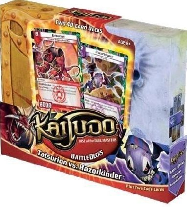 "Kaijudo Rise of the Duel Masters Battle Decks ""Tatsurion vs. Razorkinder"""