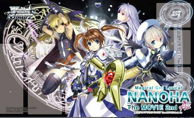 "Weiss Schwarz Fabric Mat ""Magical Girl Lyrical Nanoha A's The Movie 2nd"" by Bushiroad"