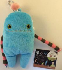 "Mokeke Carabiner Monster Pouch ""Aro"" BL by Shinada"