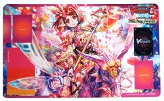 "Cardfight Vanguard G Rubber Mat ""Flower Princess of Spring's Beginning, Primavera"" by Bushiroad"