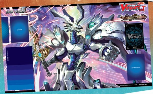 "Cardfight Vanguard G Rubber Mat ""Generation Stride (Holy Dragon, Saint Blow Dragon)"" by Bushiroad"