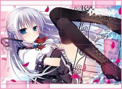 "TCG Universal Fabric Play Mat ""Innocent Girl (Ayashiro Kagari)"" by Broccoli"