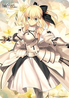 "Character Universal Rubber Mat ""Fate/ Grand Order (Saber/ Artoria Pendragon [Lily])"" by Broccoli"