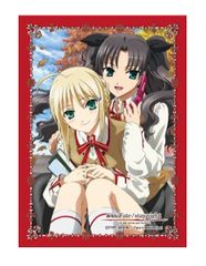 """Character Sleeve Collection """"Fate/stay night Unlimited Blade Works the Movie (Rin & Saber)"""" by Broccoli"""