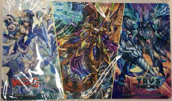 "Cardfight!! Vanguard G Rubber Mat ""Try 3 Next"" by Bushiroad"