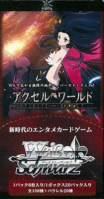 "Weiss Schwarz Japanese Booster Box ""Accel World Infinite Burst"" by Bushiroad"