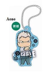 "Acrylic Scenes Key Chain ""Haikyuu!! Second Season (Aone Takanobu)"" by Takara Tomy A.R.T.S"