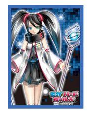 "Character Sleeve Collection ""Sega Hard Girls (Sega Saturn)"" by Broccoli"