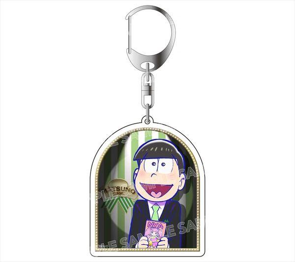 """Acrylic Key Holder """"Osomatsu-san (Choromatsu) Formal Ver."""" by avex pictures"""