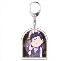 "Acrylic Key Holder ""Osomatsu-san (Todomatsu) Formal Ver."" by avex pictures"