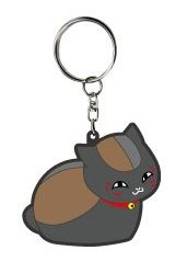 "Bendable Charm ""Natsume Yuujinchou (Kuro Nyanko)"" by Ulala Cube"