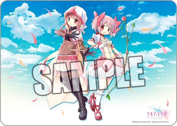 "Character Universal Rubber Mat ""Puella Magi Madoka Magica Side Story: Magia Record"" by Broccoli"