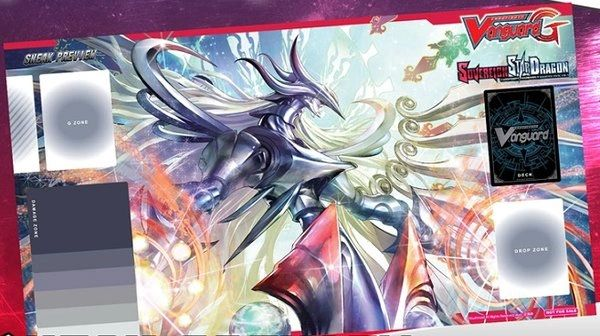 "Cardfight Vanguard G Rubber Mat ""Genesis Dragon, Amnesty Messiah"" by Bushiroad"