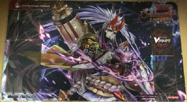 "Cardfight Vanguard G Rubber Mat ""Demonic Advent (Enma Stealth Rogue, Mujinlord)"" by Bushiroad"